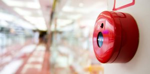 image of fire alarm bell