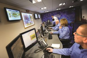 image of alarm monitoring dispatch