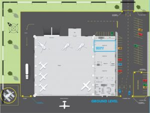 image of exterior floor plan