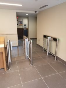 automatic systems slimlane entrance lane