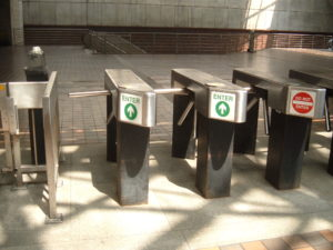image of tripod turnstile