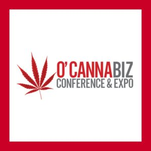 image of o'cannabiz conference and expo logo