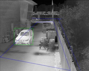 image of  thermal perimeter detection