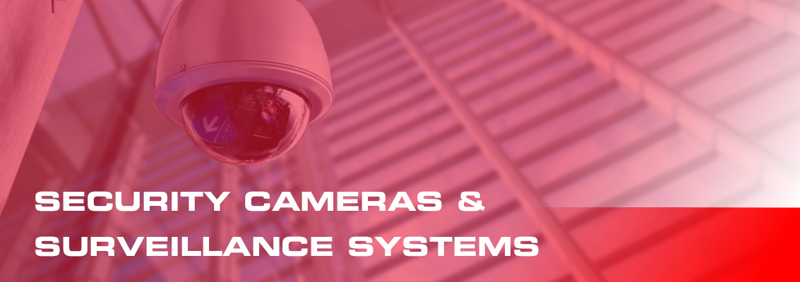 security cameras and surveillance systems page header