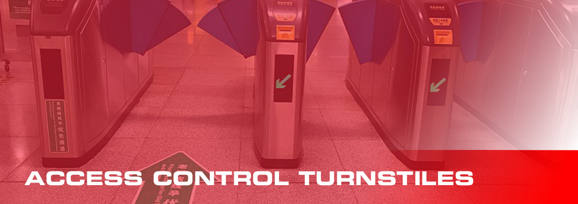 access control turnstiles page header
