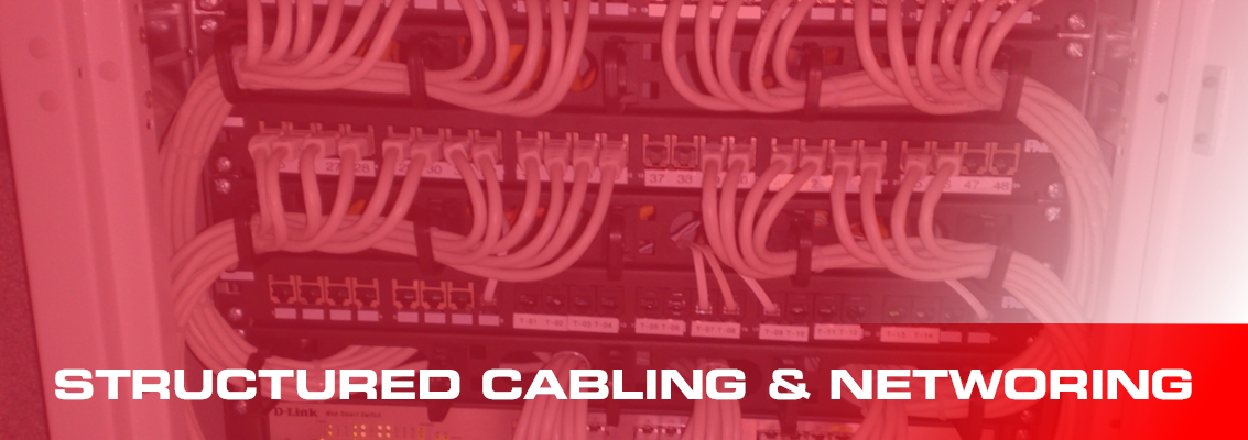structured cabling and networking page header