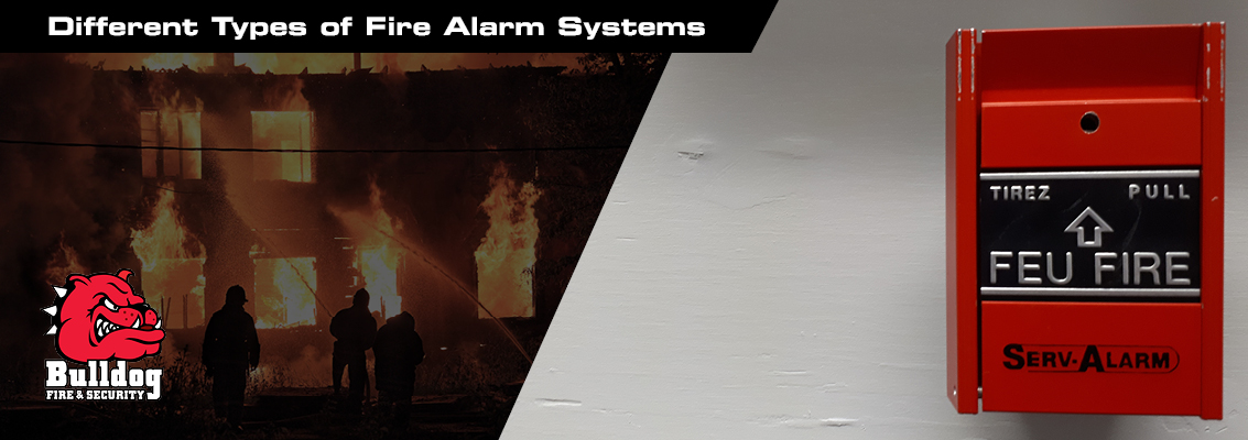 different types of fire alarm systems blog header