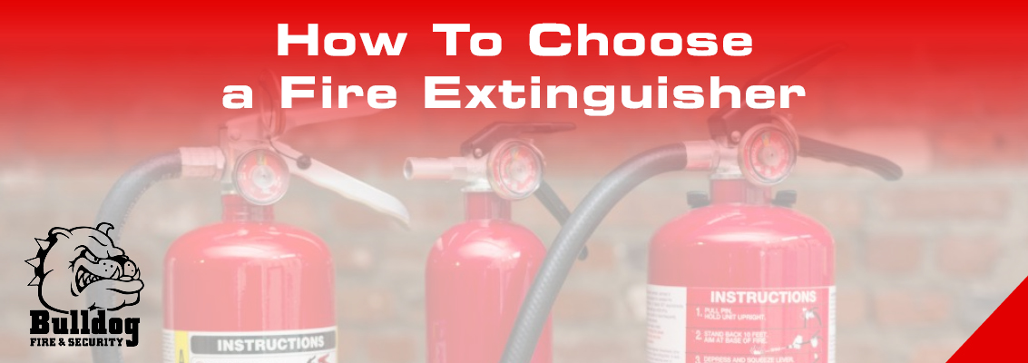 how to choose a fire extinguisher blog header image