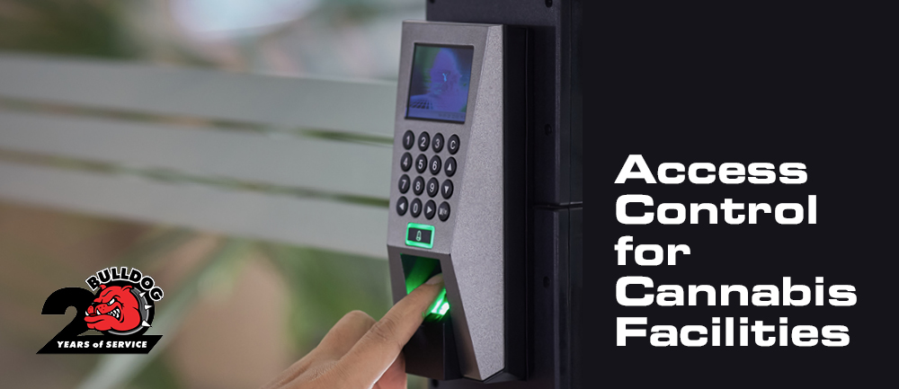 access control for cannabis production facilities