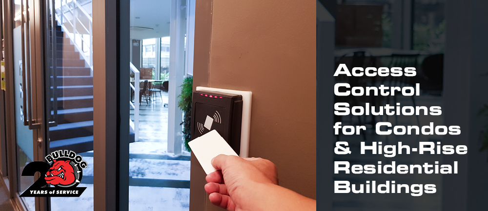 access control solutions for condos and high rise residential buildings header image