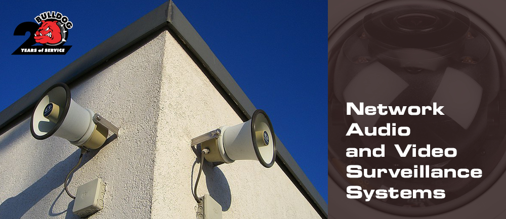 video surveillance and network audio image