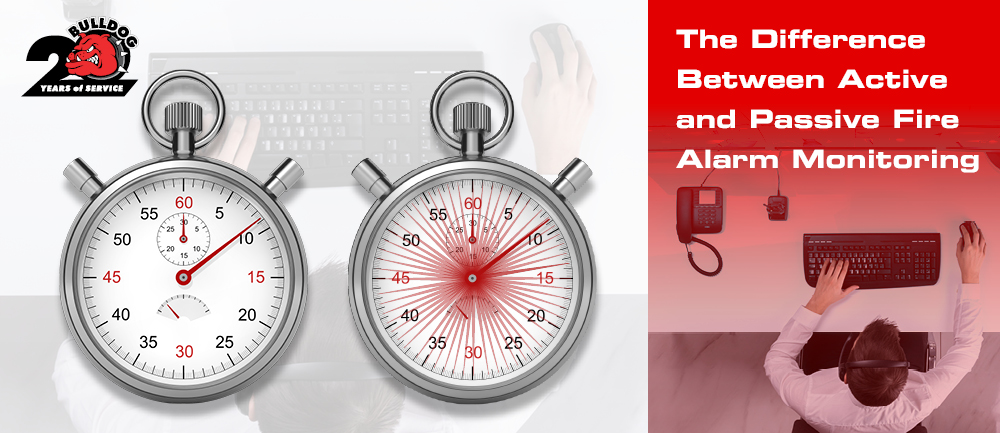 difference between active and passive alarm monitoring image