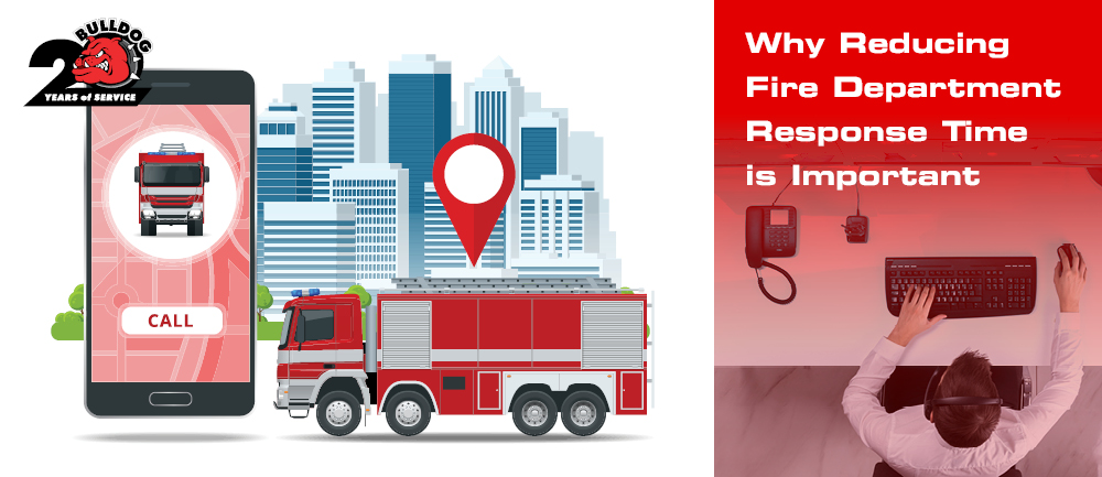 importance of reducing fire department response times image